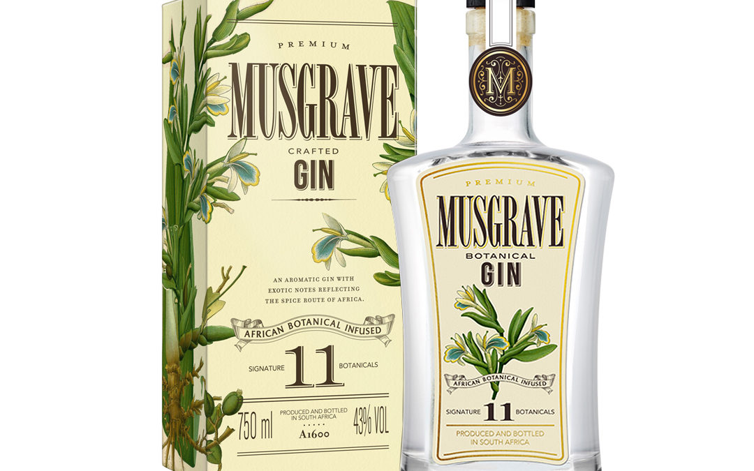 Musgrave 11 Botanical Infused Gin