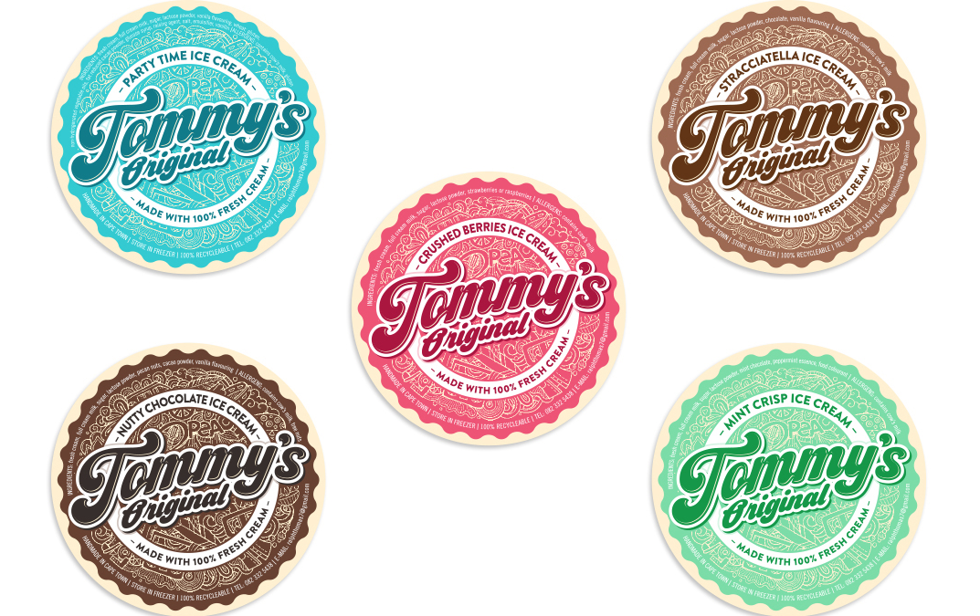 Tommy's handcrafted ice cream